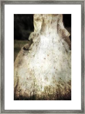 Woman In A Meadow Framed Print by Joana Kruse