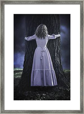 Woman With Trunk Framed Print by Joana Kruse