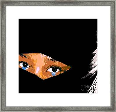 Womanhood And Motherland Framed Print