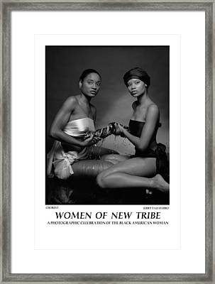 Women Of A New Tribe - Chores I Framed Print by Jerry Taliaferro