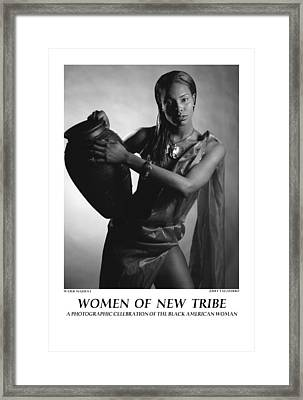 Women Of A New Tribe - Water Maiden I Framed Print by Jerry Taliaferro