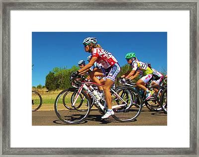 Women Start On Day Two Framed Print