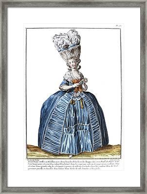 Womens Fashion, C1780 Framed Print by Granger