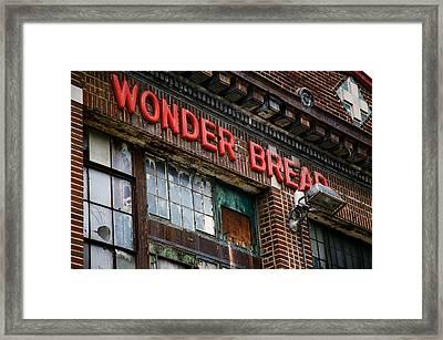 Wonder Bread Framed Print