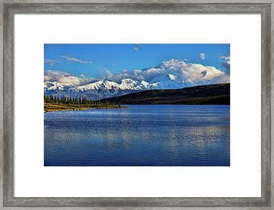 Wonder Lake Framed Print by Rick Berk