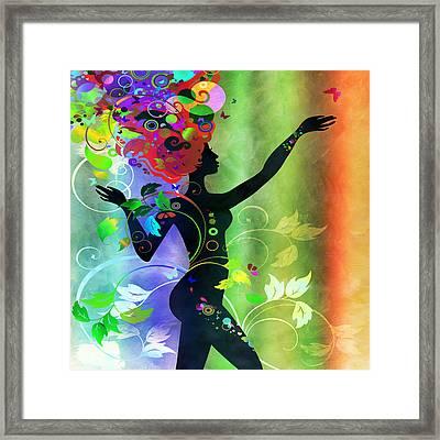 Wonderful 2 Framed Print by Angelina Vick
