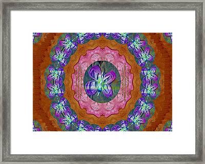 Wonderful Rose Petal Art Framed Print
