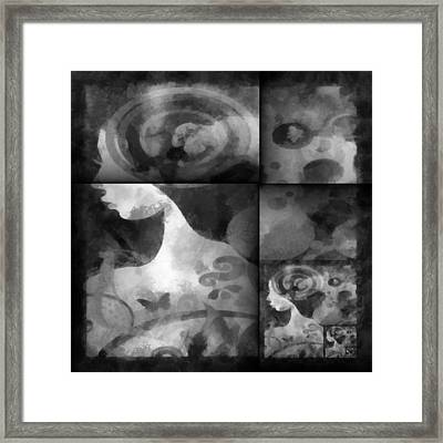 Wondering 2 Framed Print by Angelina Vick