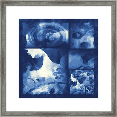 Wondering 4 Framed Print by Angelina Vick