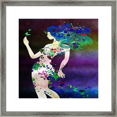 Wondering  Framed Print