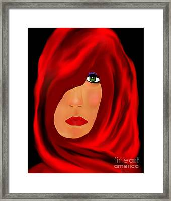 Wondering Framed Print by Lori  Lovetere