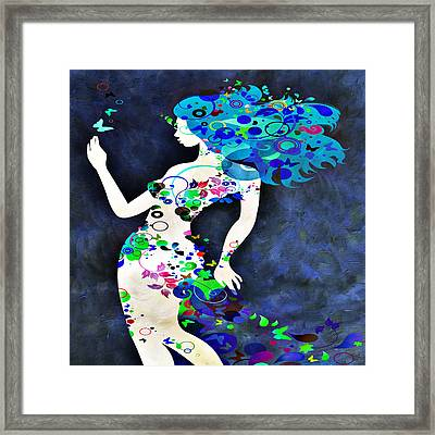 Wondering Night Framed Print