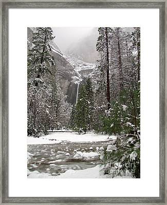 Wonderland Yosemite Framed Print by Heidi Smith