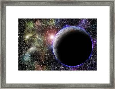 Wonders Of Space Framed Print by Barry Jones