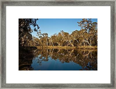 Wongi Water Holes Framed Print by David Barringhaus