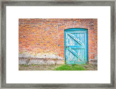 Wonky Door Framed Print