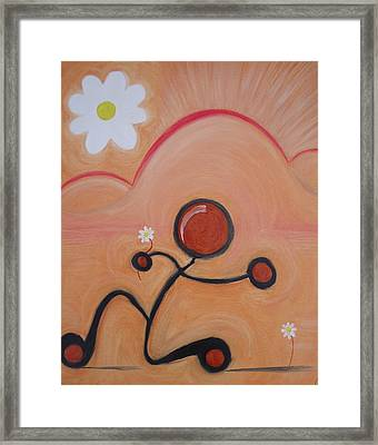 Woo - To Seek The Affection Of With Intent To Romance. Framed Print by Cory Green