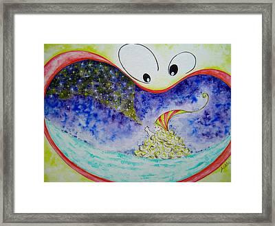 Woo Framed Print by Asida Cheng
