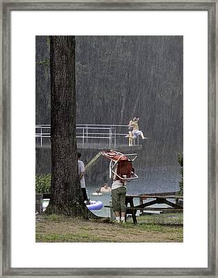 Woo Hoo Framed Print by Lynn Palmer