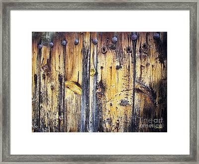 Wood Framed Print by Eena Bo