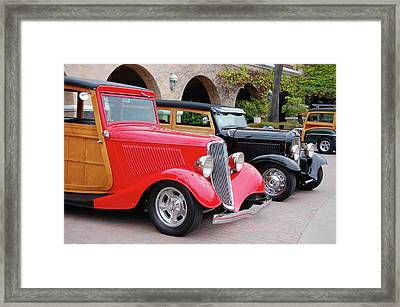 Framed Print featuring the photograph Wood Present by Bill Dutting