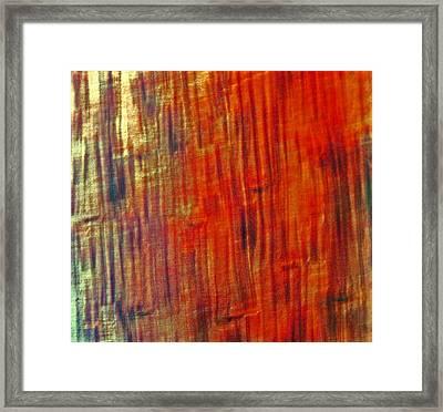 Wood Tones Framed Print by James Mancini Heath