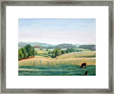 Woodberry Forest Framed Print by Gordon Bell