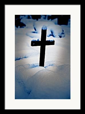 The Wooden Cross Photographs Framed Prints