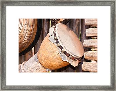 Wooden Instruments Framed Print by Tom Gowanlock