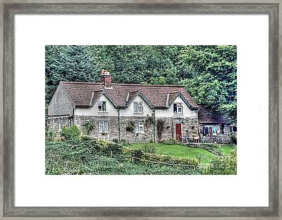 Woodkeepers Cottage Framed Print