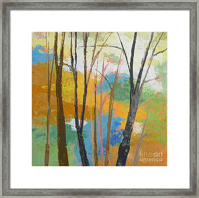Woodland #3 Framed Print by Melody Cleary