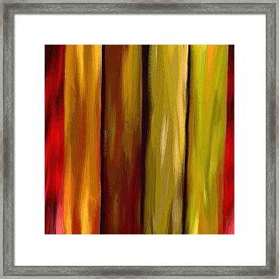 Woodlands Framed Print by Ely Arsha