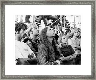 Woodstock Fans Framed Print by Three Lions