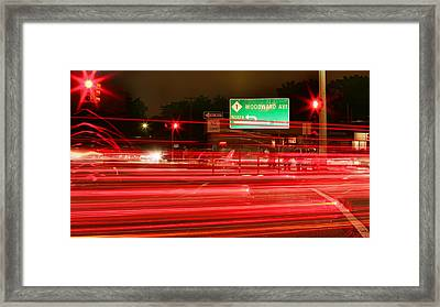 Woodward Framed Print by Gordon Dean II