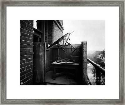 Woodwards Photomicrography Apparatus Framed Print