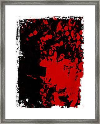 Woof Woof Framed Print by Lynn Thomson