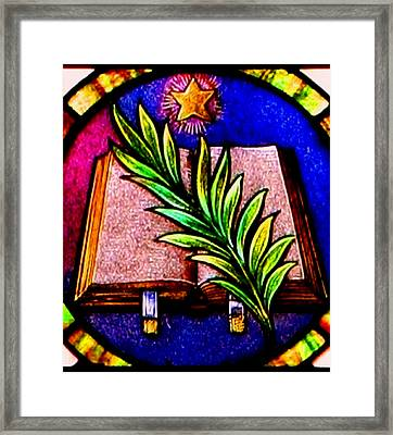 Word  Framed Print by Trish Jenkins