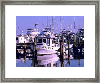 Framed Print featuring the photograph Work At Rest by Brian Wright