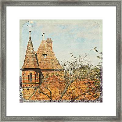 Work Is Love Made Visible Framed Print