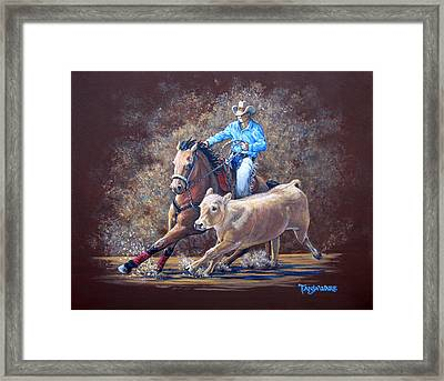 Workin' For A Livin' Framed Print by Tanja Ware