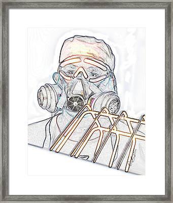 Working Man Framed Print