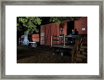 Working On The Railroad 2 Framed Print