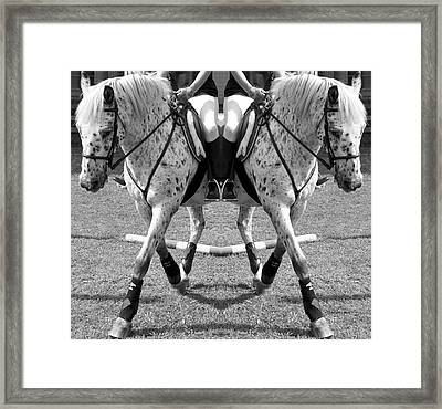 Working Towards Excellence Framed Print by Betsy Knapp