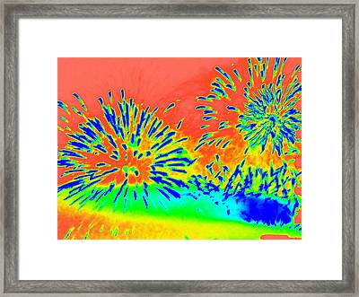 Works 14 Framed Print by Randall Weidner