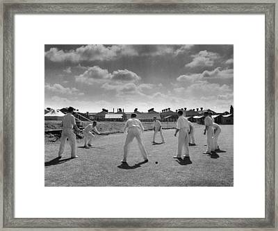 Works Cricket Framed Print by Haywood Magee
