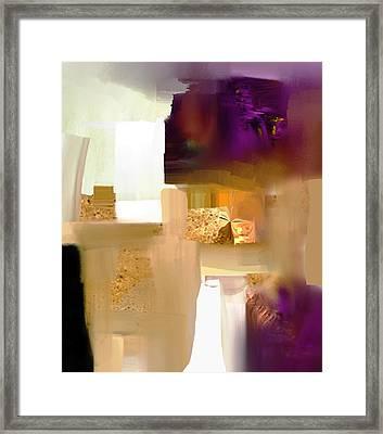 Workspace - Nb 1 Framed Print