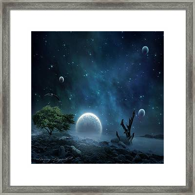 World Beyond Framed Print