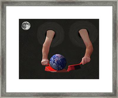 World Corruption  Framed Print by Eric Kempson
