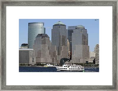World Financial Center Nyc Framed Print by John Van Decker