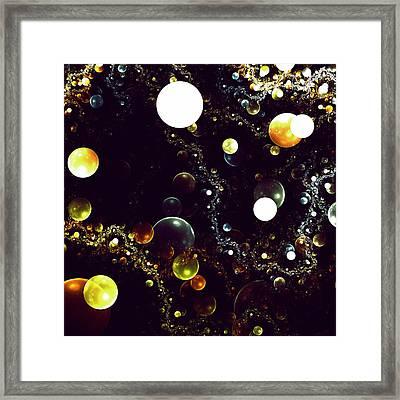 World Of Bubbles Framed Print by Steve K